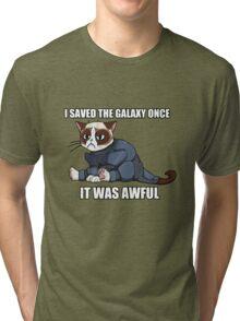 Commander Grumpy Tri-blend T-Shirt