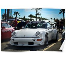 "Porsche 911 RWB ""Hollywood"" Poster"