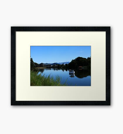 Tweed River Murwillumbah Framed Print