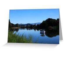Tweed River Murwillumbah Greeting Card
