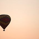 Peachy Hot Air Balloon by HaveANiceDaisy