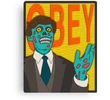 OBEY Canvas Print