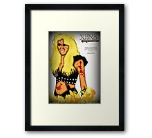 Callisto: Warrior Queen Framed Print