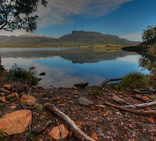 Huntsman Lake. by Warren  Patten
