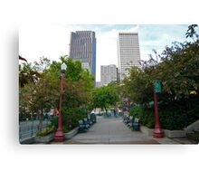 Portsmouth Square, Chinatown Canvas Print