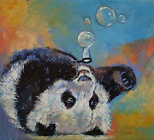 Blowing Bubbles by Michael Creese