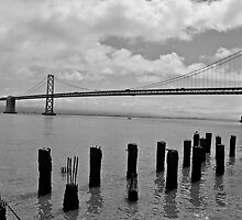 San Francisco-Oakland Bay Bridge by HaveANiceDaisy