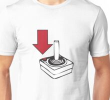 Using your Atari 2600 Controllers Unisex T-Shirt