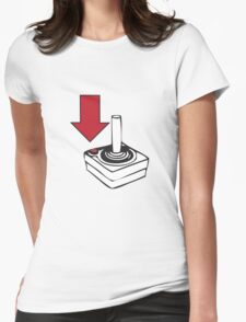 Using your Atari 2600 Controllers Womens Fitted T-Shirt