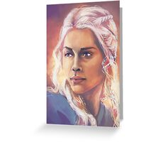 Stormborn Greeting Card
