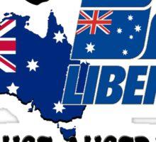 Australian Liberal Party Sticker