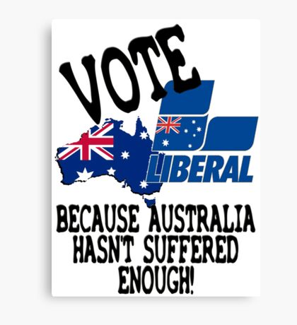 Australian Liberal Party Canvas Print