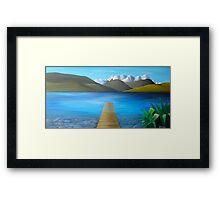 Lake Alexandrina Framed Print