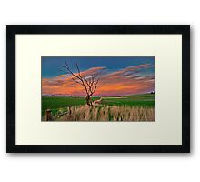"""""""Day's End At Ceres"""" Framed Print"""