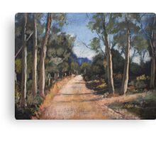 Hill Road Canvas Print