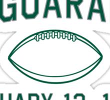 The Guarantee Sticker