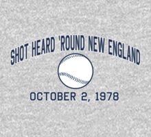 Shot Heard 'Round New England by LicensedThreads