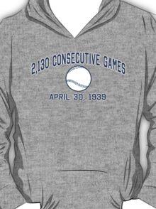 2,130 Consecutive Games T-Shirt
