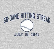 56-Game Hitting Streak by LicensedThreads