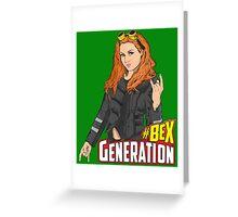 #BEX Generation Greeting Card