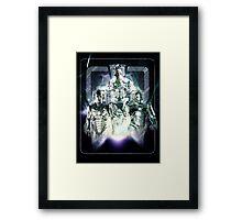 Evolution of the Cybermen Framed Print
