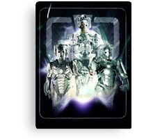 Evolution of the Cybermen Canvas Print