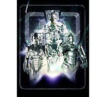 Evolution of the Cybermen Photographic Print