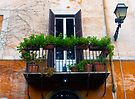 A balcony in Rome by Sandro Rossi