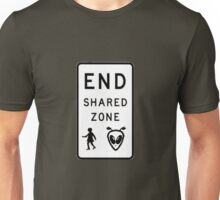 End Shared Zone Unisex T-Shirt