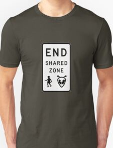 End Shared Zone T-Shirt
