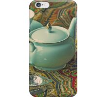 Anyone for a cuppa? iPhone Case/Skin