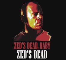 Zed is Dead - for dark shirts by Jason Langer