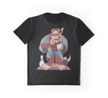 Bigfoot Lebowski Graphic T-Shirt
