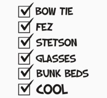 Cool Whovian Checklist - black text by slitheenplanet