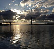 Forth Road Bridge.  by LBMcNicoll