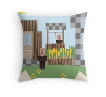 Testificate Village Throw Pillow
