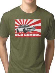 skyline gtr old school Tri-blend T-Shirt