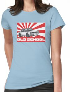 skyline gtr old school Womens Fitted T-Shirt