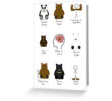 BEARS Greeting Card