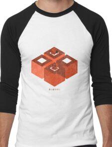 Head over Heels Men's Baseball ¾ T-Shirt