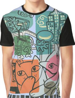 On the Town Graphic T-Shirt