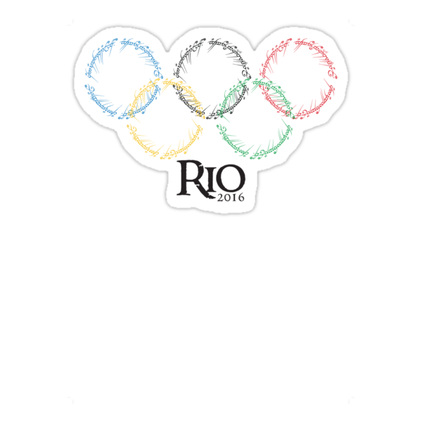 Olympic Rings - Rio 2016 by batimanOlympic Rings 2016