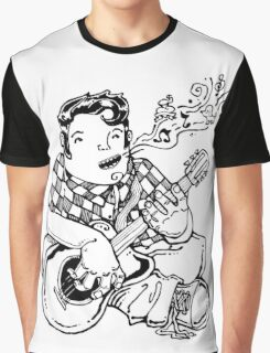 Guitar player rockabilly style Graphic T-Shirt