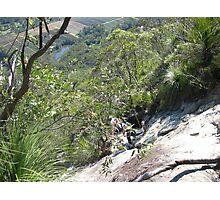 Climbing Mt Tibrogargan Photographic Print