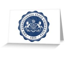 PENN STATE pennsylvania psu logo  Greeting Card
