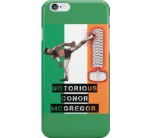Conor Mcgregor Kicking Skulls iPhone Case/Skin