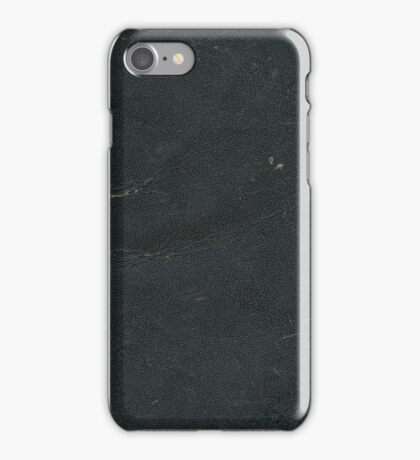 Black Book iPhone Case/Skin