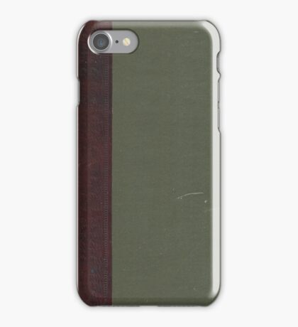 Green Book iPhone Case/Skin