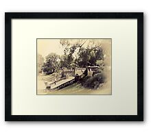 Bethesda Terrace Framed Print