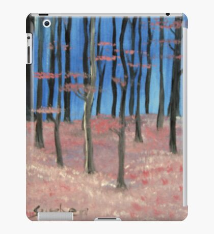Trees at Start of Spring iPad Case/Skin